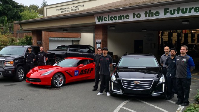 General Motors Supports Excellence In Automotive Education