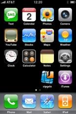IPhone Phone Screen Shot