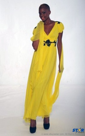 A sneak peek at Queen Esther's new line with Hot Couture model Lisa.