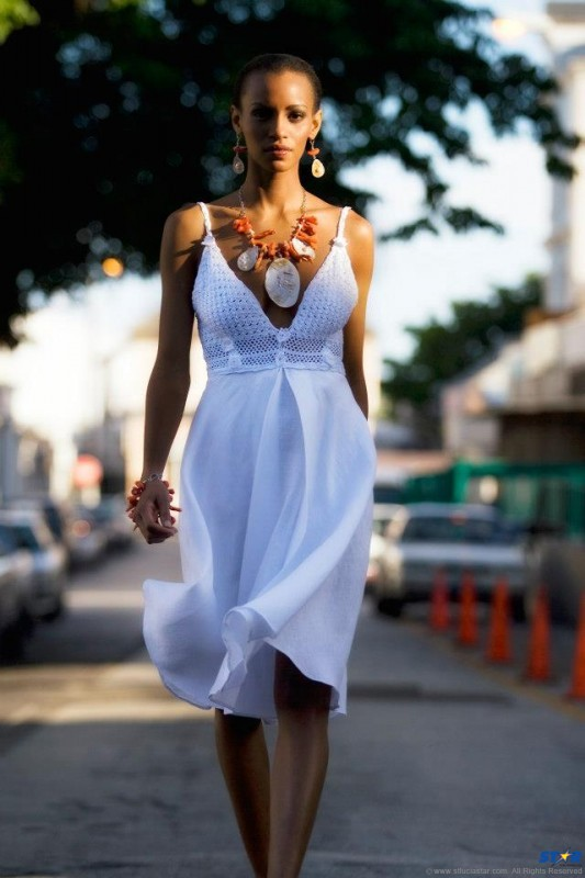 Queen Esther is one of the St Lucian designers to be featured at HOT Couture.