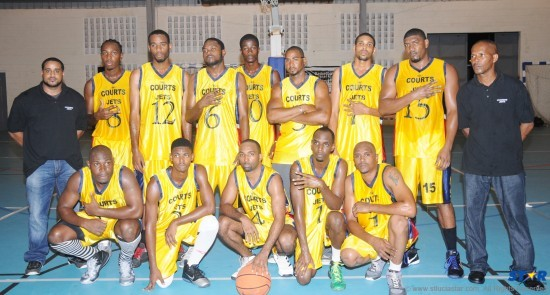 Judging by their expressions you would never guess that courts Jets just won their fourth consecutive National Basketball League title.