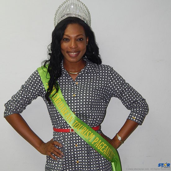 Saint Lucian Louise Victor is new Caribbean Tourism Queen.