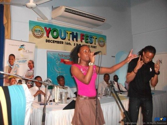 Last year's winners performing at prize giving ceremony for Youthfest the event that's nurturing  the talent of the region's youth.
