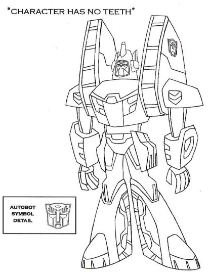 New Transformers Animated Character Models - Transformers News - TFW2005 - character model template