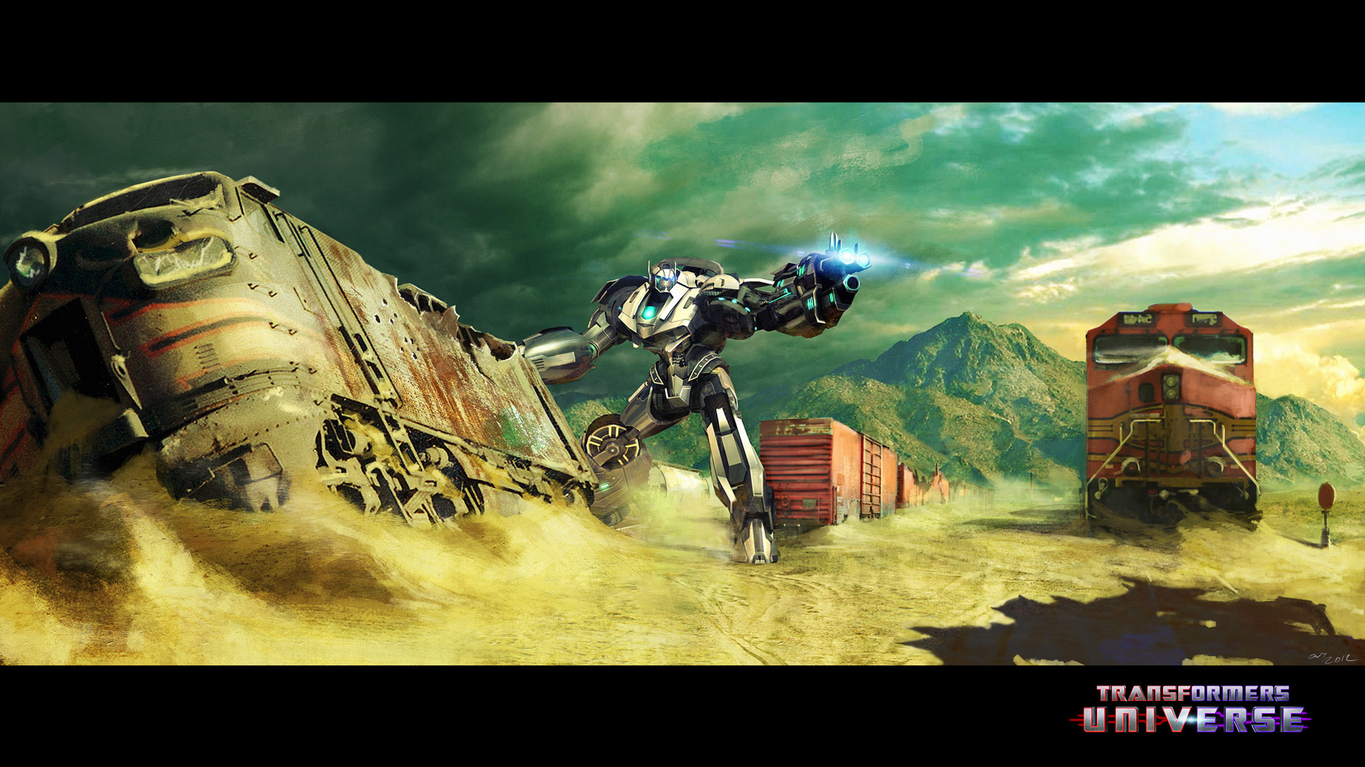 Grimlock Fall Of Cybertron Wallpaper Transformers Universe Game New Character Concept Art