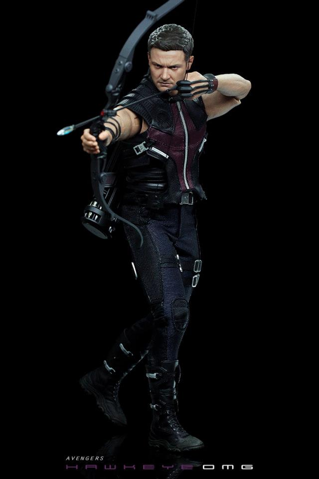 Avengers Assemble Wallpaper Hd Hot Toys The Avengers Hawkeye Final Product The Toyark