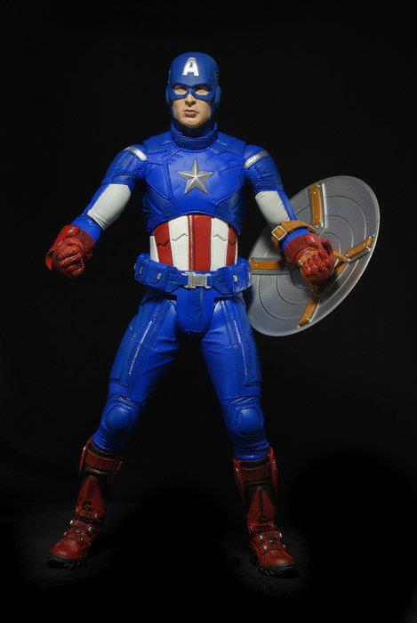 Wallpaper Superhero Marvel 3d Neca Quarter Scale Captain America Photos The Toyark News