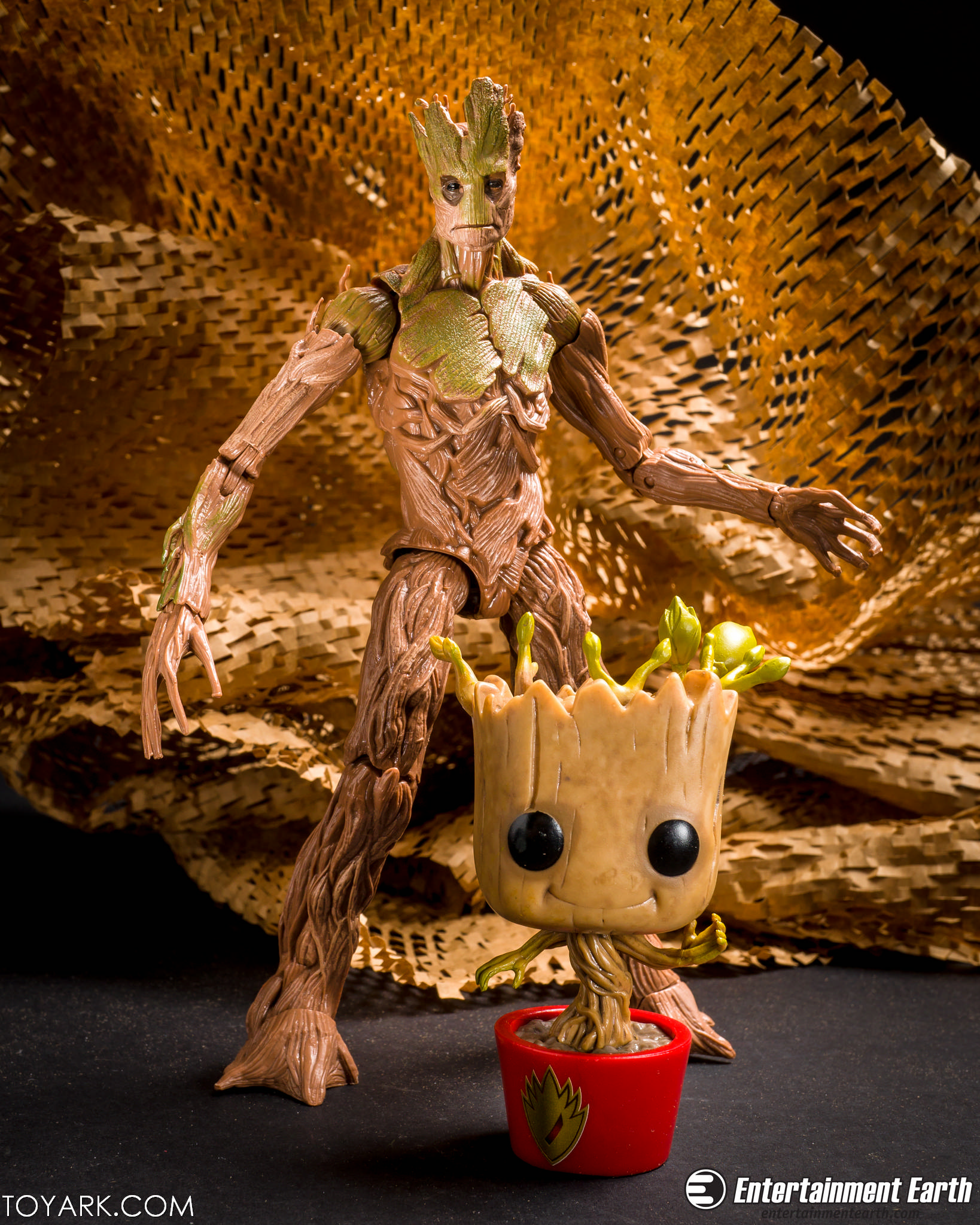 Baby Groot Guardians Of The Galaxy Pop Vinyl Dancing Groot Entertainment Earth Exclusive