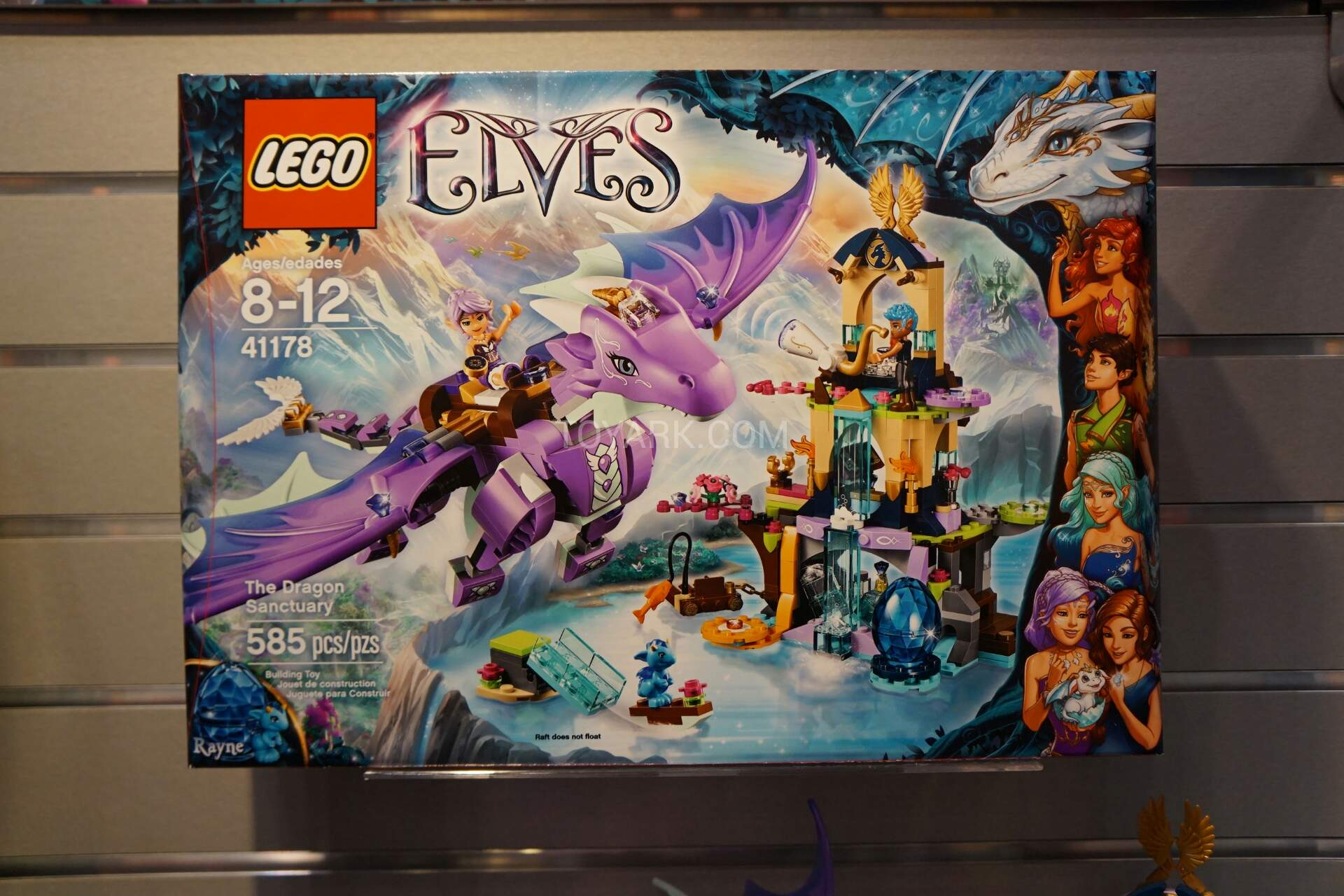 Dragon Sala Set Olx 41178 The Dragon Sanctuary Elves Brickpicker
