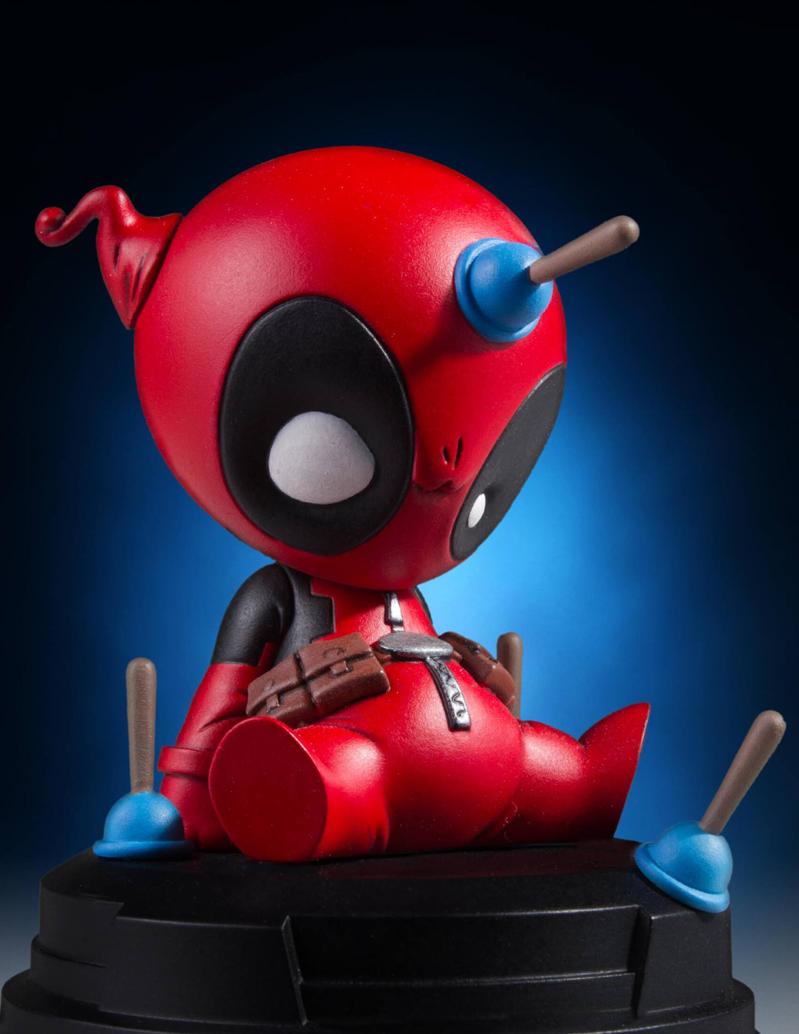 Daisy Iphone Wallpaper Gentle Giant Animated Deadpool Statue The Toyark News