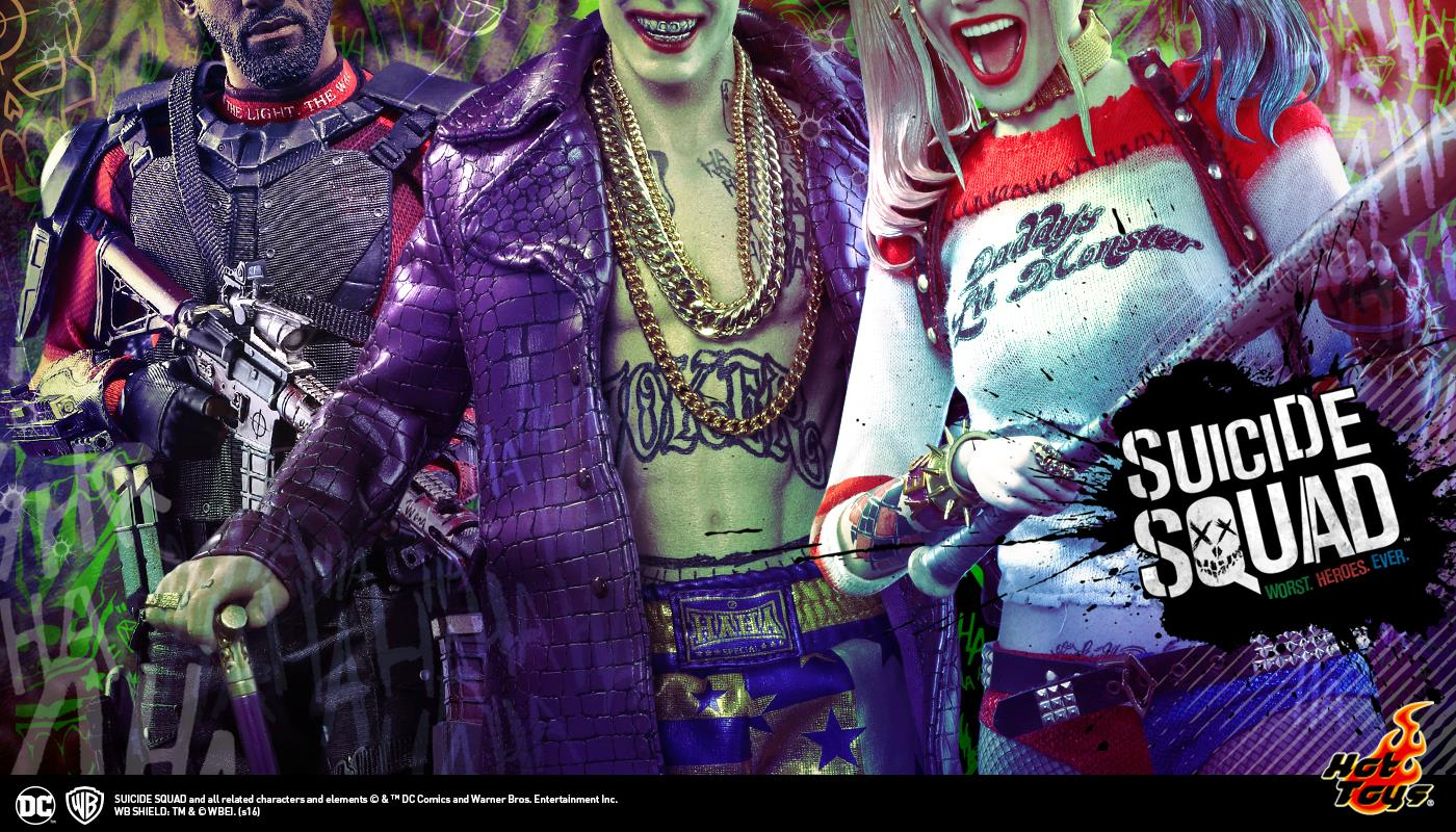 Jared Leto Quote Wallpaper Hot Toys Officially Announces Suicide Squad Collectibles