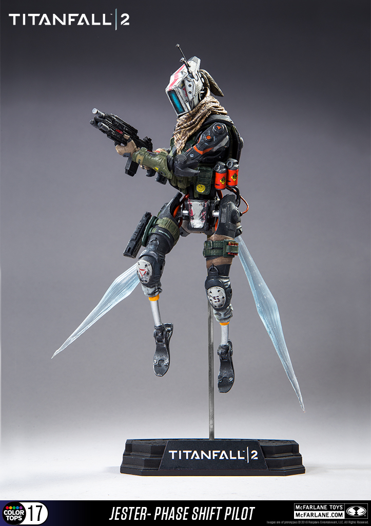 Pistol 3d Wallpaper Titanfall 2 Jester Figure New Photos From Mcfarlane Toys