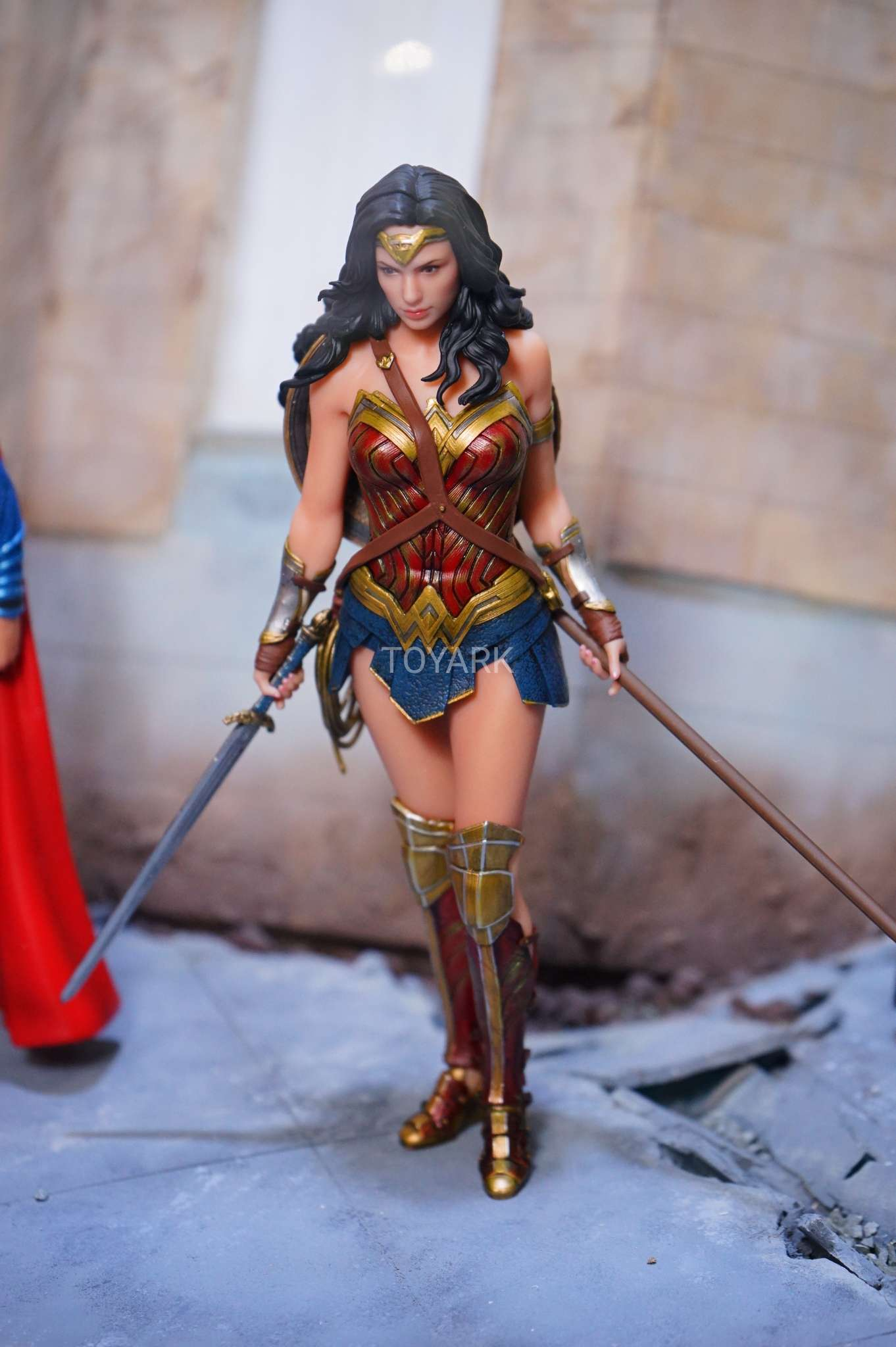 Spada Wonder Woman Dc Justice League Live Action Movie Statues Statue Forum