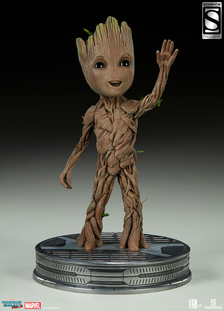 Baby Groot Guardians Of The Galaxy Guardians Of The Galaxy Vol. 2 - Baby Groot Maquette By