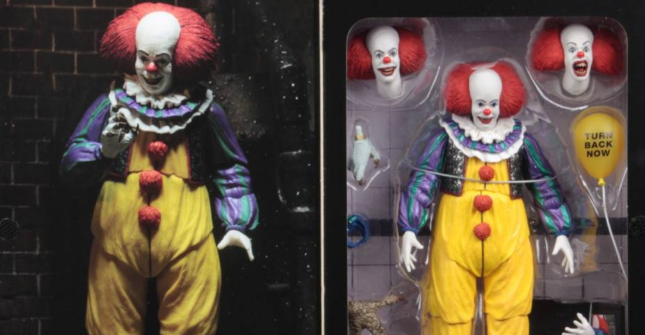 Toy Story Toys Vintage Neca It 1990 Pennywise Version 2 Final Packaging Photos