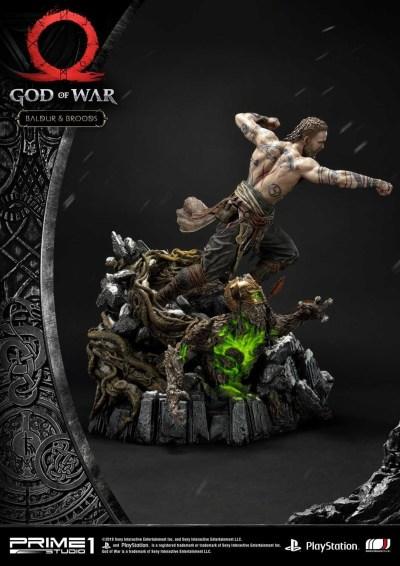 God Of War - Baldur and Broods Statue from Prime 1 Studio - The Toyark - News