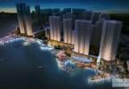 مجسم تصميمي لمنطقة شياوقانغوان الاقتصادية الزرقاء