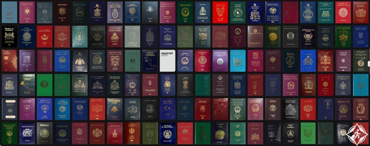 ترتيب الدول العربية ضمن تصنيف أقوى جوازات السفر 2015
