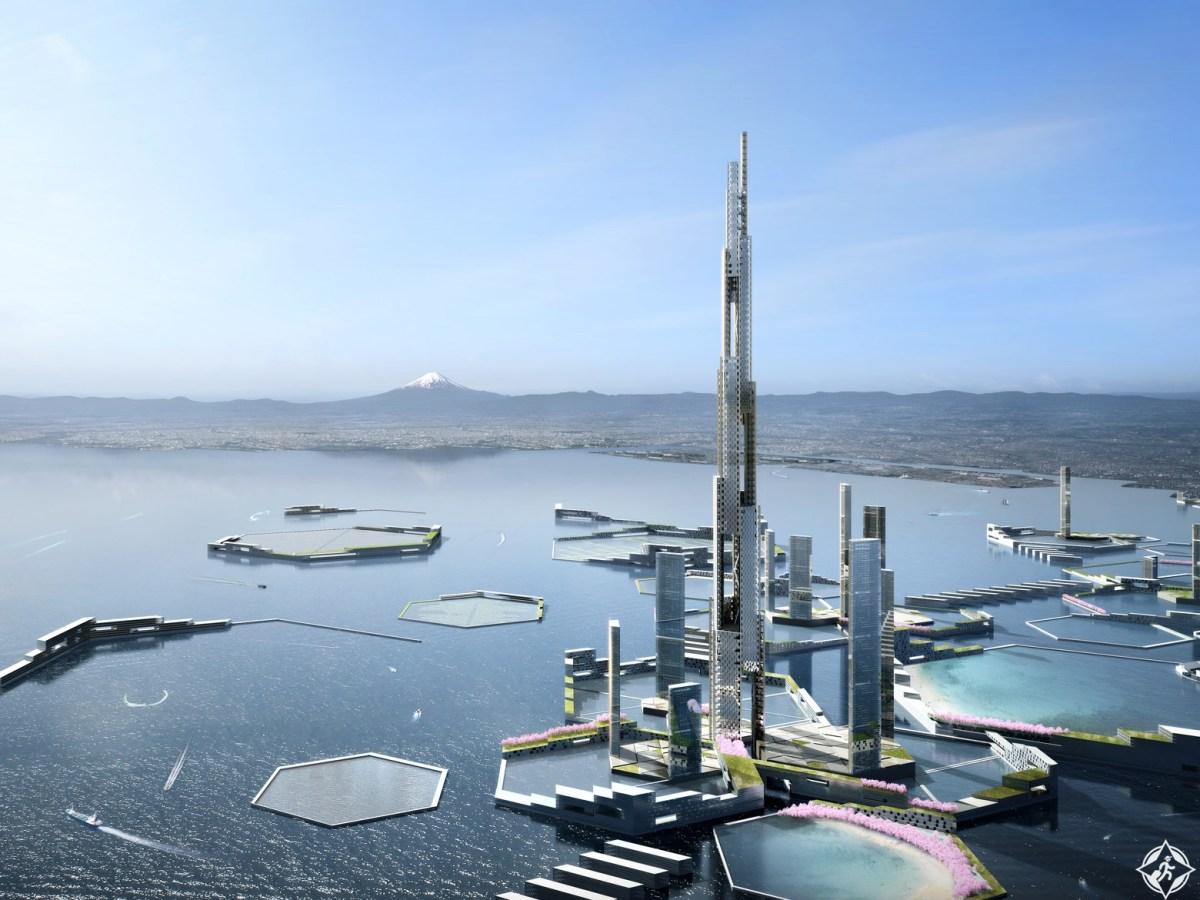 اليابان تبنى برج سكاى مايل اعلى بناية فى العالم