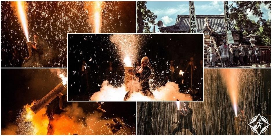 بالصور: الألعاب النارية في اليابان .. ذروة الاحتفالات التي تبهر حشود المتفرجين