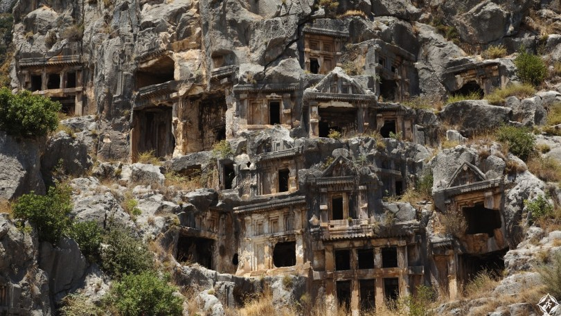 Myra, Anatolia, Turkey.