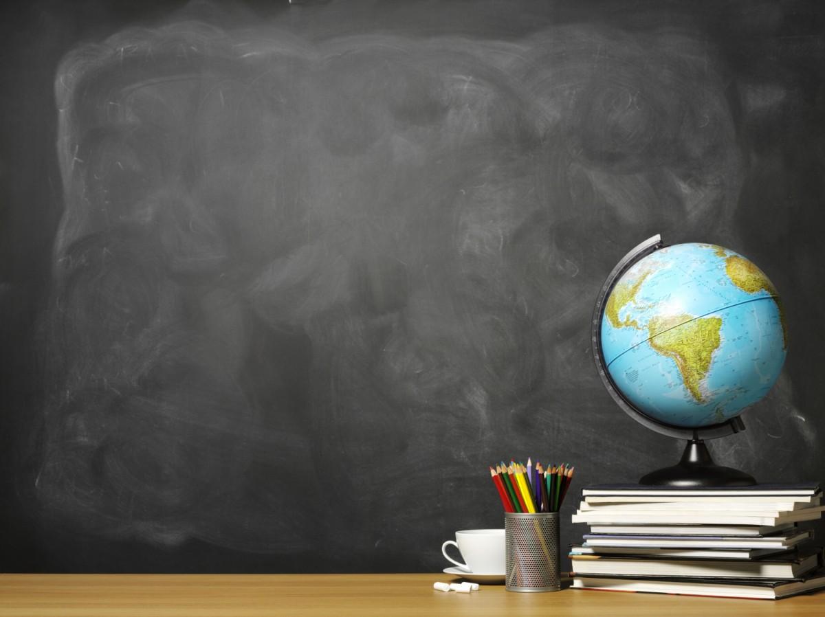 classroom chalkboard background