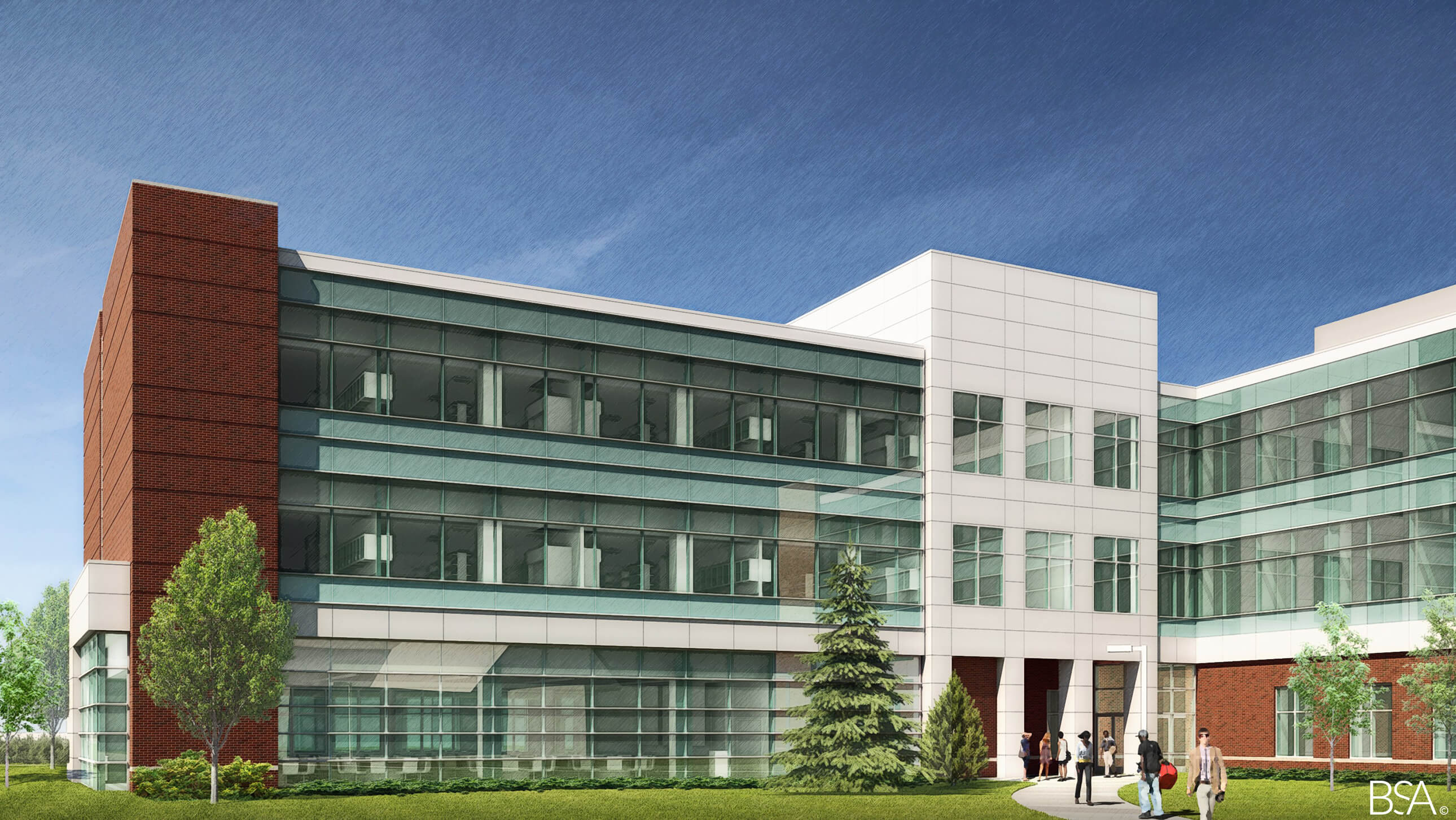 Construction Engineering Building And Construction Begins For Weldon School Of Biomedical Engineering