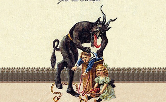 Have You Been Naughty Then Beware Krampus Is Coming