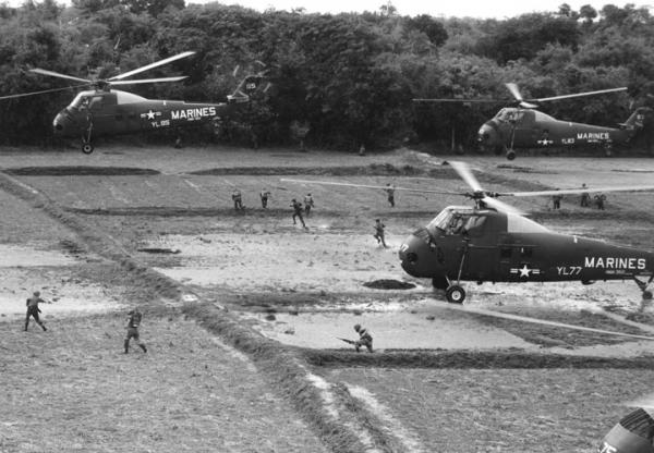 Marine Helicopters in Vietnam, U.S. Naval Institute Archives