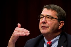 Deputy Secretary of Defense Ashton Carter testifies to the Senate Committee on Appropriations, Feb. 14. DoD Photo