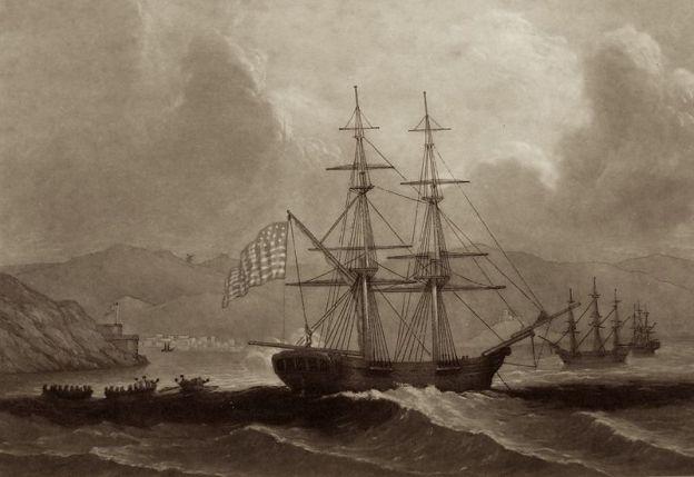 Ships Named For Lincoln and Washington