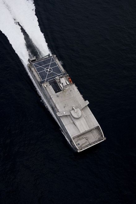Fourth Joint High Speed Vessel Delivers