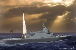 A proposed international variant of the Freedom-class Littoral Combat Ship. Lockheed Martin Photo