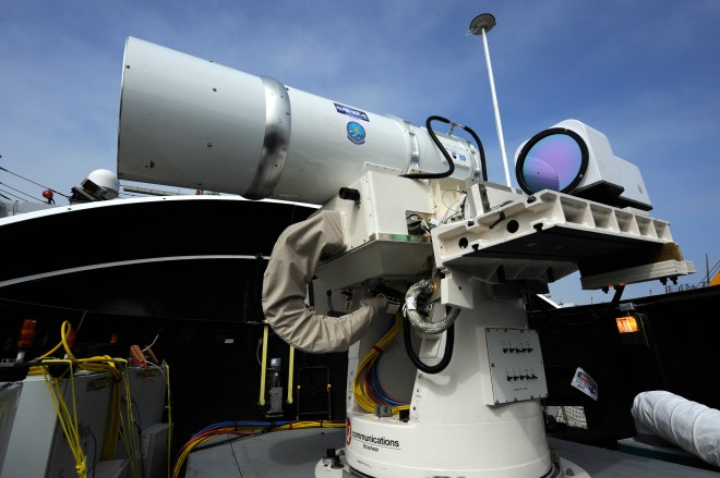 Document: Report to Congress on Navy Shipboard Lasers