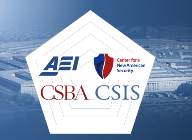 Four D.C. think tanks took a crack at cutting the Pentagon's budget under sequestration. CSBA Image