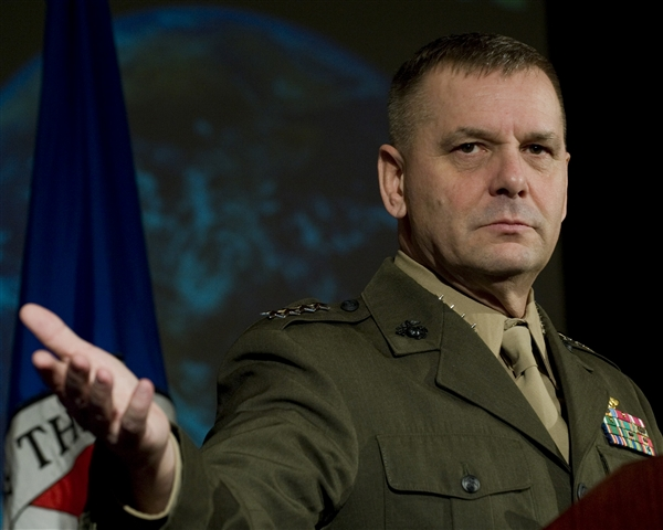 Retired Gen. James Cartwright. Department of Defense Photo