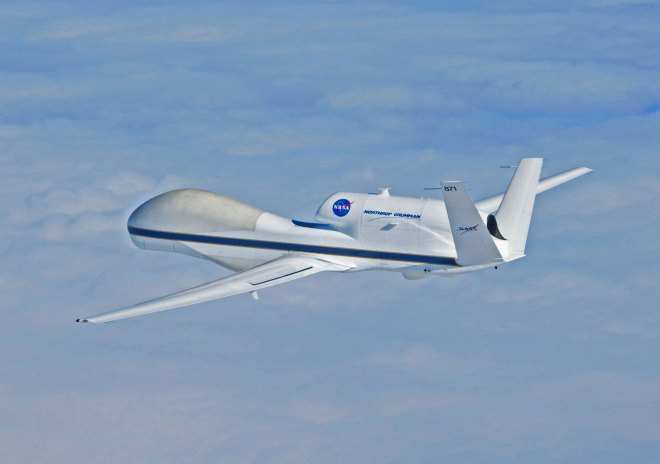 Unmanned Aircraft Help Navy Study Hurricanes