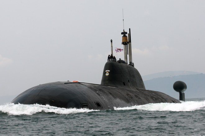 India Interested in Leasing Second Russian Nuclear Attack Sub