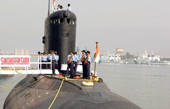 Indian Sub Explosion Likely Caused by Detonated Munitions