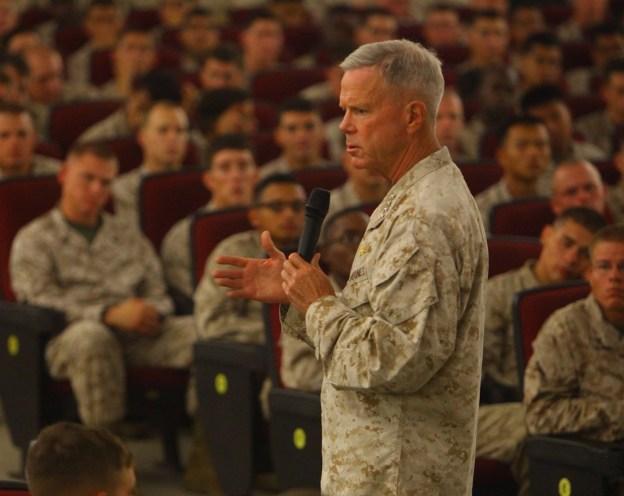 Commandant: USMC Should Shrink to 174,000 Under Sequestration
