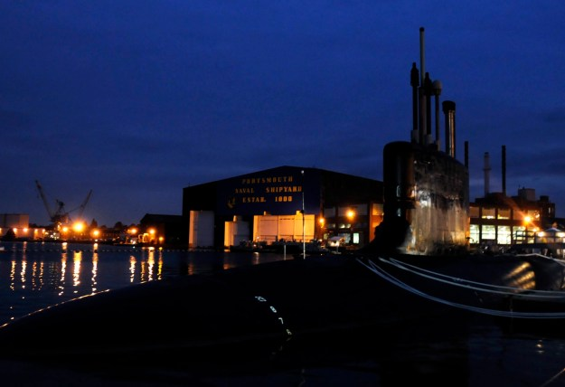 Virginia-class submarine USS New Hampshire (SSN-778) in 2008. US Navy Photo