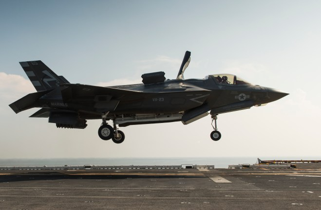 Marines Bullish on F-35B