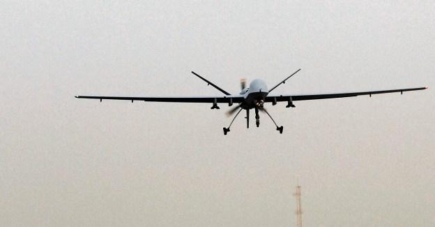 Reaper patrols Iraq sky