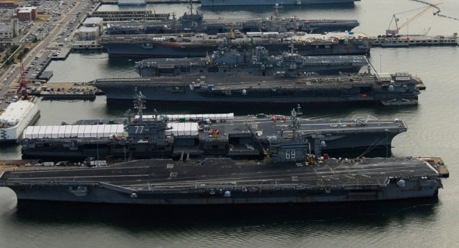 House Members Push Against Rumored U.S. Carrier Cut