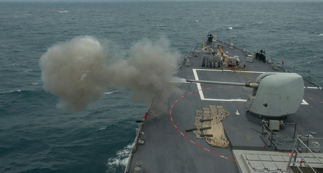 Navy Considering New Five Inch Guided Round for Surface Ships