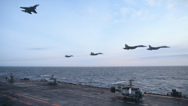 Elements of Russia's North Fleet. RIA Novosti Photo
