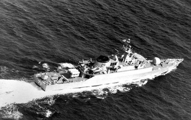 Iranian Frigate Sabalan (F-73)