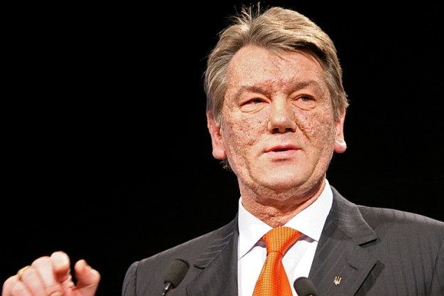 Viktor Yushchenko, April 5, 2005. JFK Library Photo