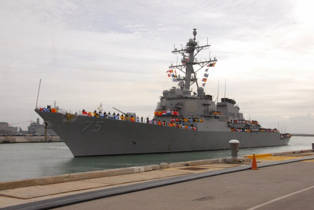 U.S. Destroyer Donald Cook Returns to Black Sea