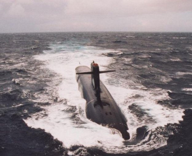 Triomphant-class submarine. French Navy Photo
